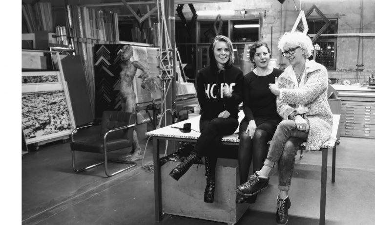 Ewa Helena Martin, Nathalie Procaccia und Frida Kappich