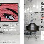 Flyer Popstreet.Shop Galerie Ewa Helena