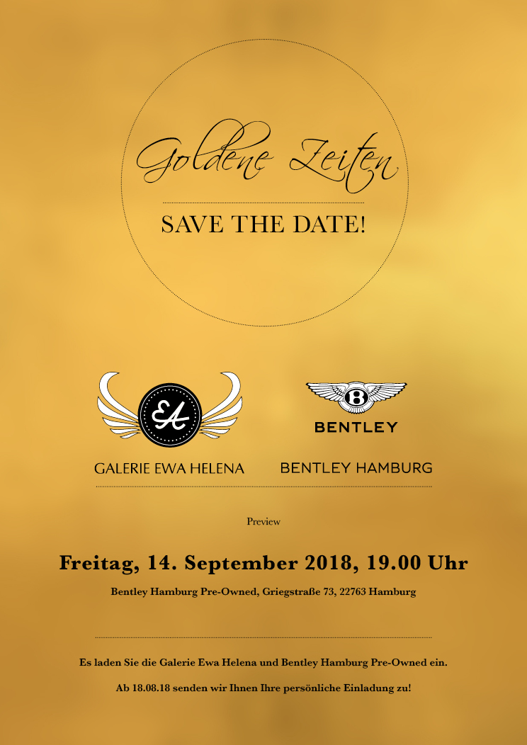 Save the Date Goldene Zeiten