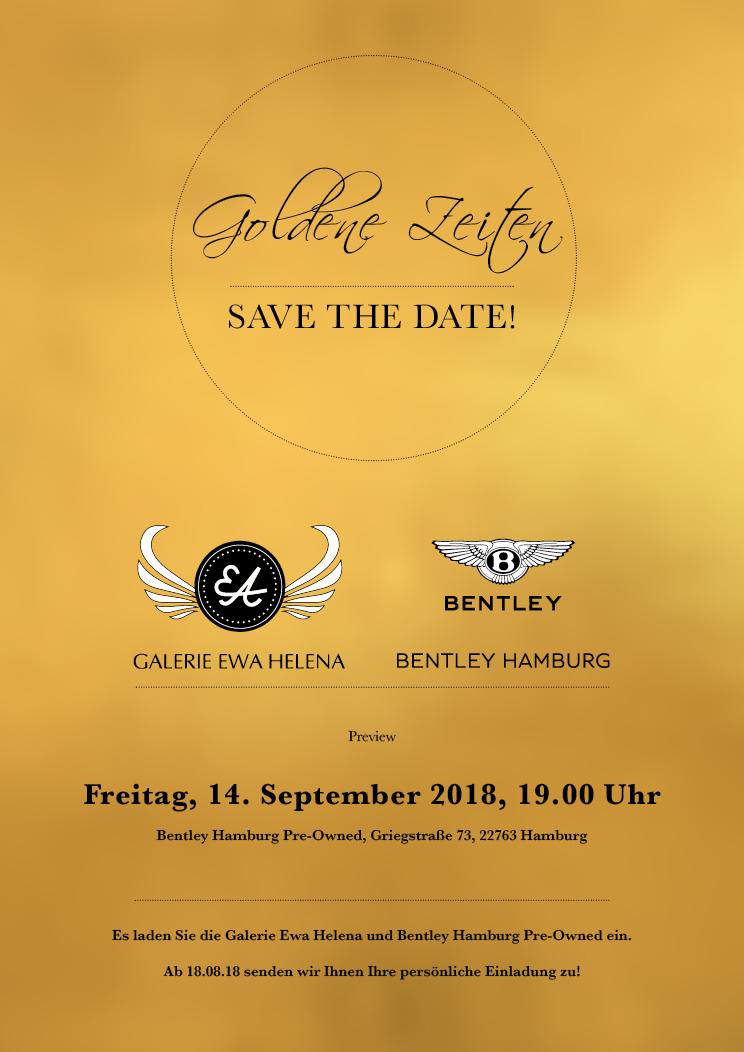 Save the Date Goldene Zeiten