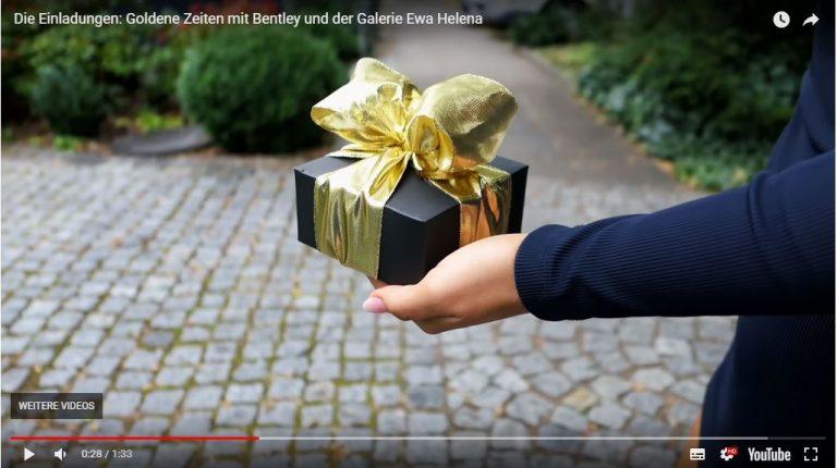 Galerie Ewa Helena und Bentley Hamburg Goldene Zeiten
